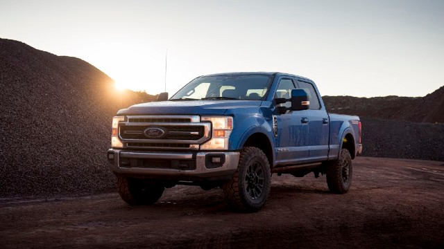 2021 Ford F-350 Adaptive Steering System