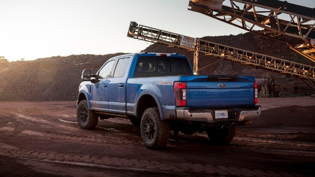 2021 Ford F-250 Tremor Adaptive Steering System