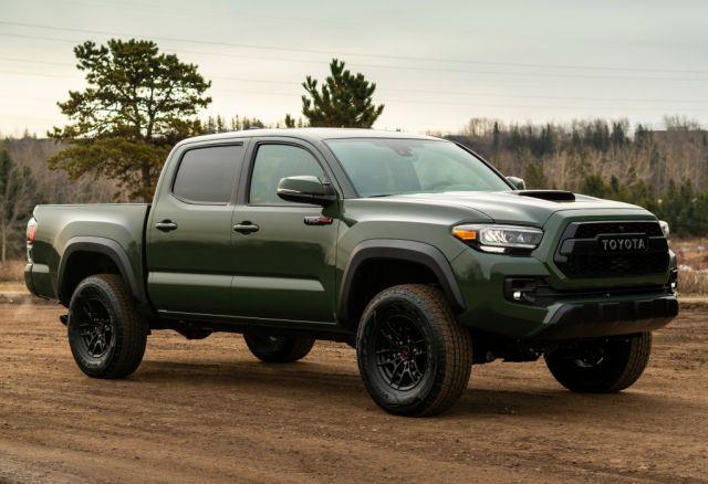 2021 Toyota Tacoma side