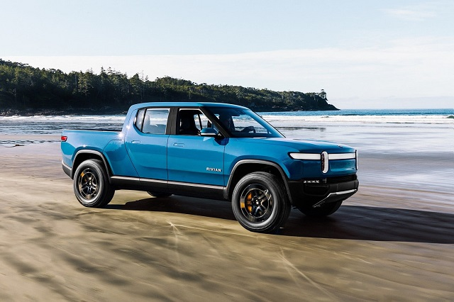 Lincoln Electric Pickup Truck front