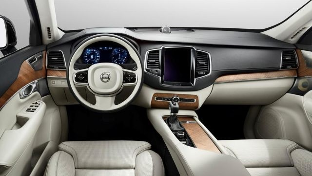 Volvo XC90 Pickup Truck interior