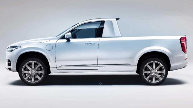 Volvo XC90 Pickup Truck renderings