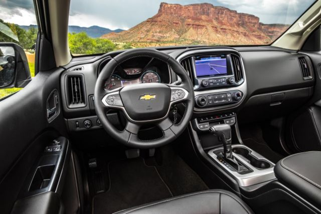 2021 Chevy Colorado cabin