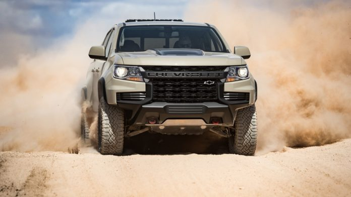 2021 Chevy Colorado front