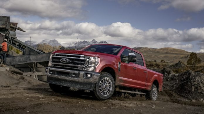 2021 Ford F-250 release date