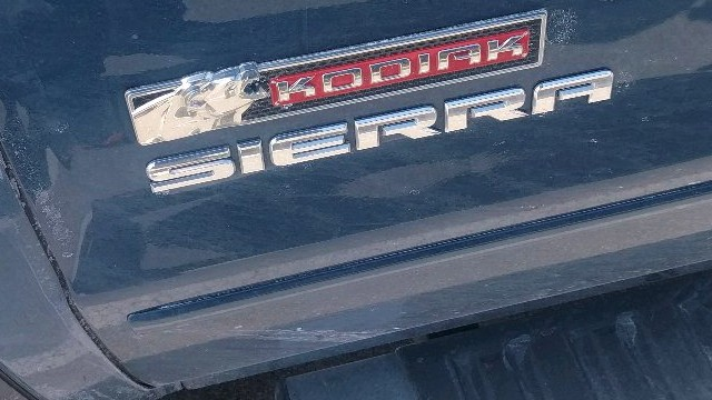 2021 GMC Sierra Kodiak Edition design