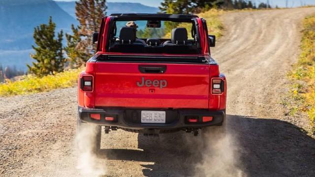 2021 Jeep Gladiator Convertible design