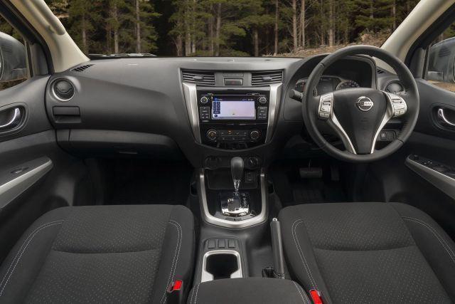 2021 Nissan Frontier cabin