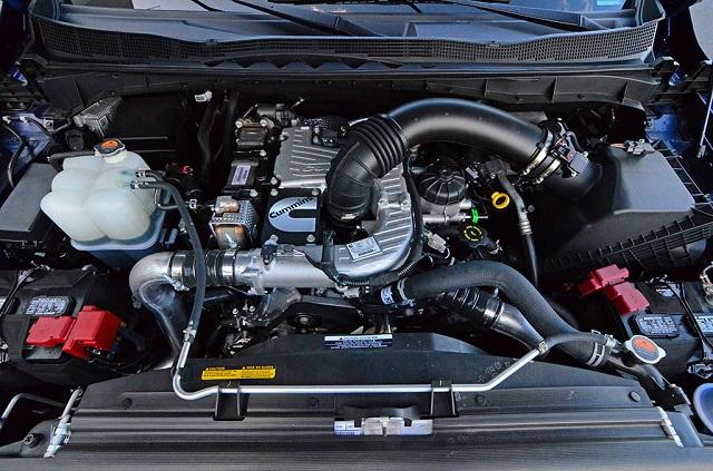 2021 Nissan Titan XD Diesel engine
