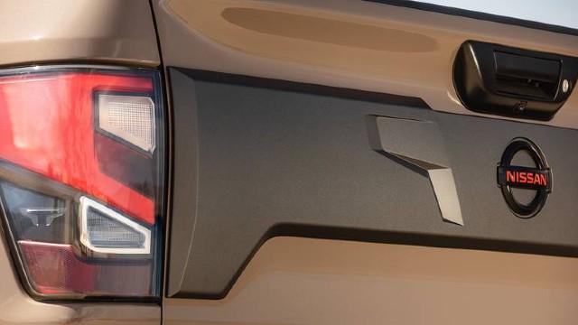 2021 Nissan Titan taillights