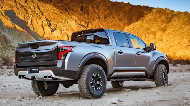 Nissan Titan Warrior Concept design