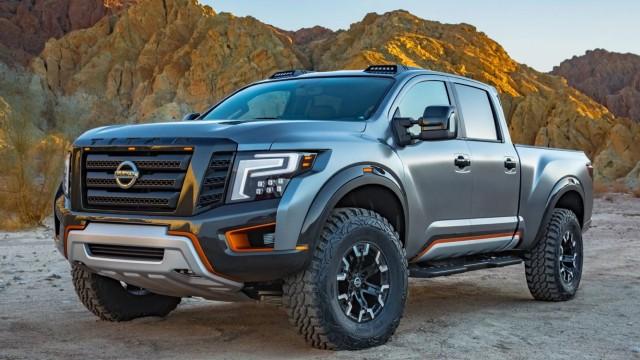 Nissan Titan Warrior Concept exterior