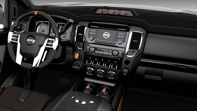 Nissan Titan Warrior Concept interior