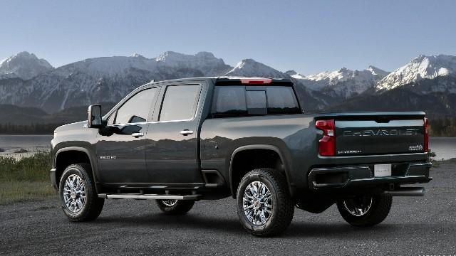 2021 Chevrolet Silverado 3500HD exterior