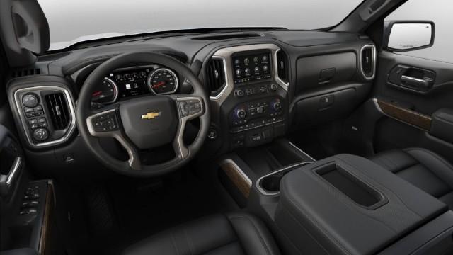 2021 Chevrolet Silverado 3500HD interior