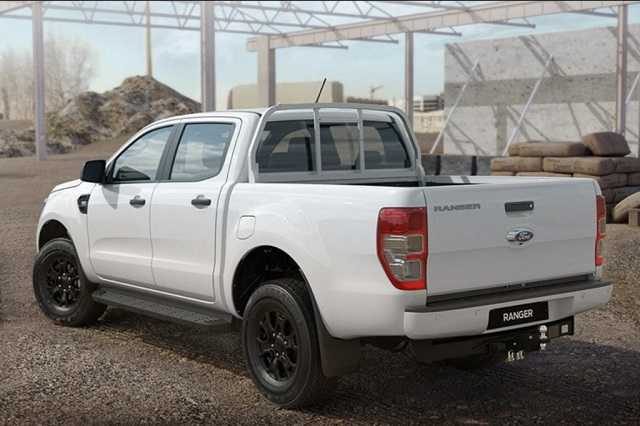 2021 Ford Ranger Tradesman rear