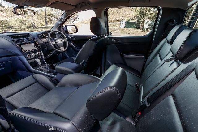 2021 Mazda BT50 cabin