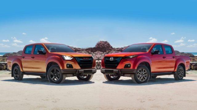 2021 Mazda BT50 comparison