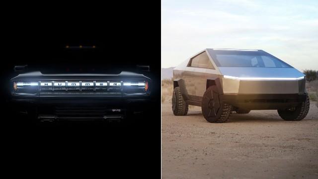 2022 GMC Hummer EV Cybertruck