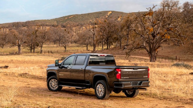 2021 Chevrolet Silverado HD changes