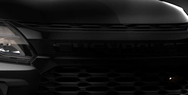 2021 Chevrolet S10 teaser