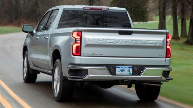 2021 Chevy Silverado 1500 design