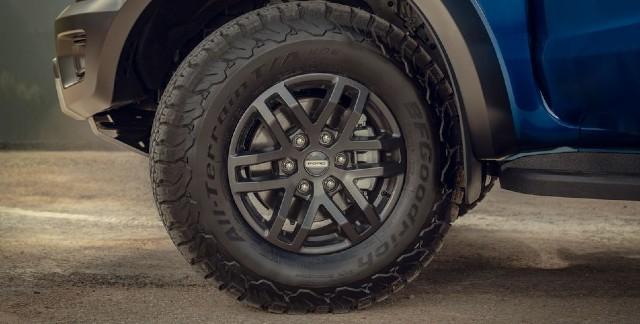 2021 Ford Ranger Raptor wheels