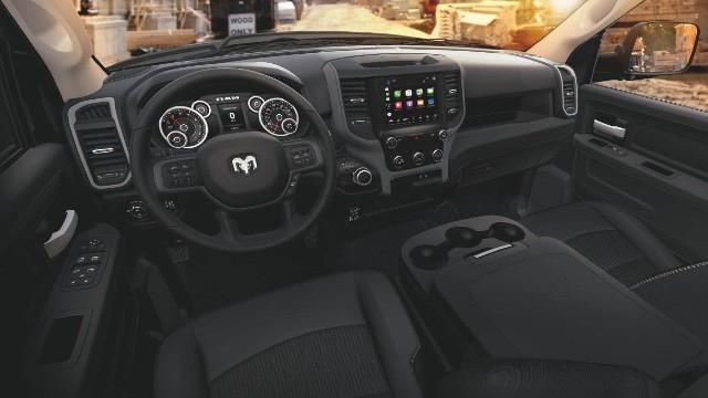 2021 Ram HD interior
