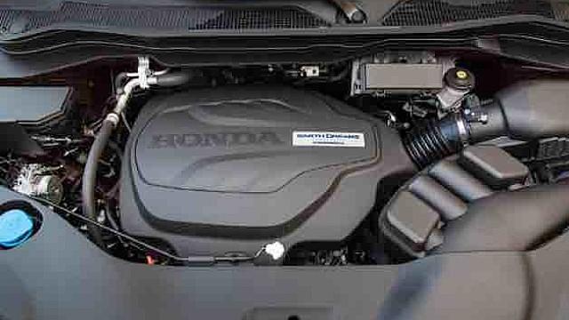 2021 Honda Ridgeline Type R engine