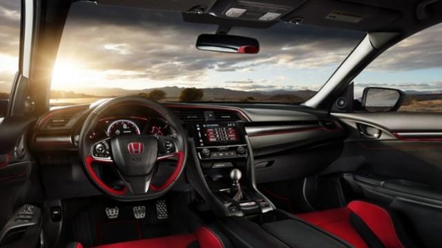 2021 Honda Ridgeline Type R interior