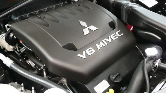 2021 Mitsubishi Raider engine