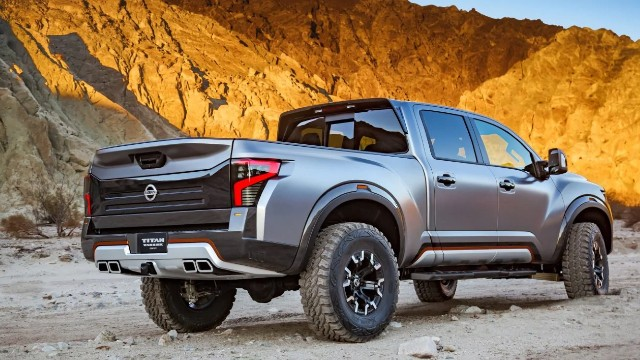2021 Nissan Titan Warrior design