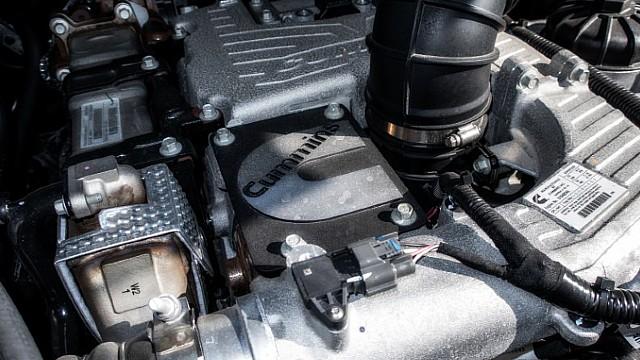 2021 Nissan Titan Warrior diesel