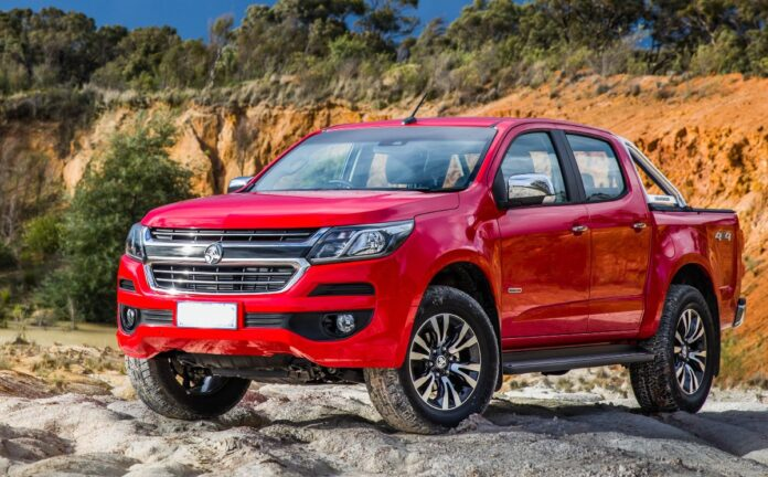 2021 Holden Colorado release date