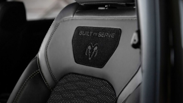 2021 Ram 1500 Built to Serve Edition interior