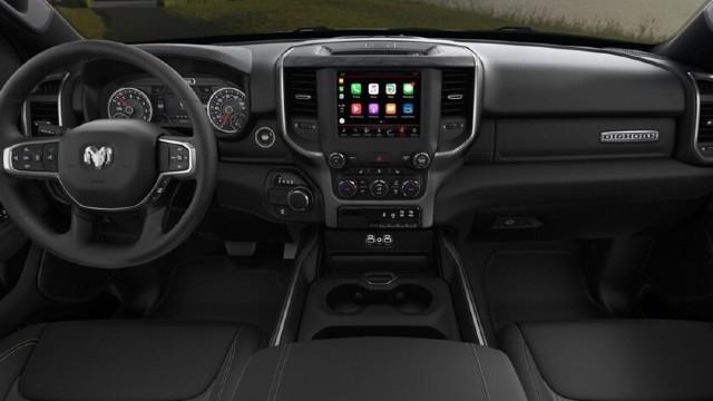2021 Ram 1500 Night Edition interior
