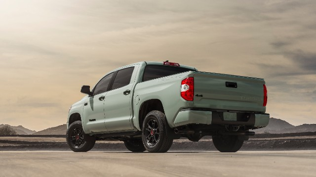 2021 Toyota Tundra Trail Edition colors