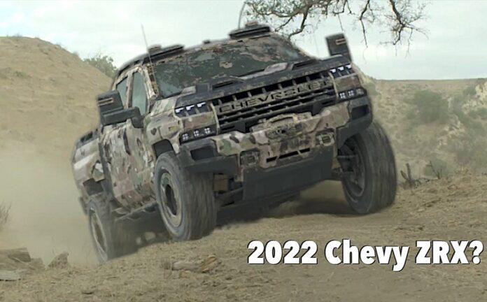 2022 Chevrolet Silverado 1500 ZRX concept