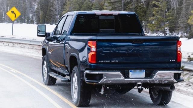 2021 Chevrolet Silverado 2500HD colors