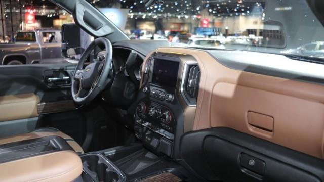 2021 Chevrolet Silverado 2500HD interior