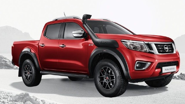 2021 Nissan Navara AT32 rendered