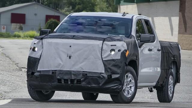 2022 Chevrolet Silverado facelift