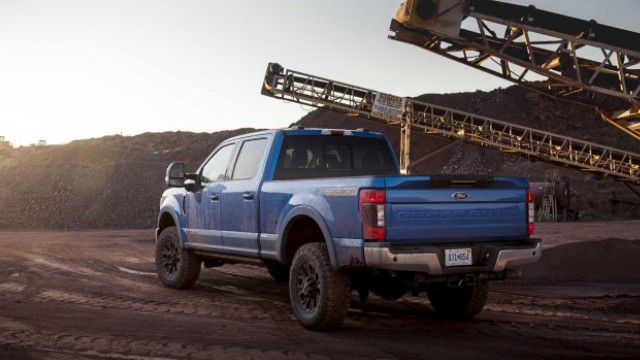 2022 Ford F-250 towing