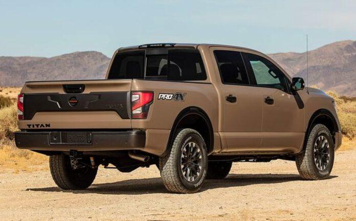 2021 Nissan Titan Pro 4x release date