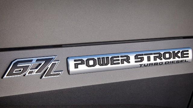 2022 Ford Super Duty diesel
