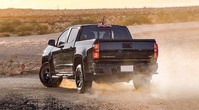2022 Chevy Colorado rear