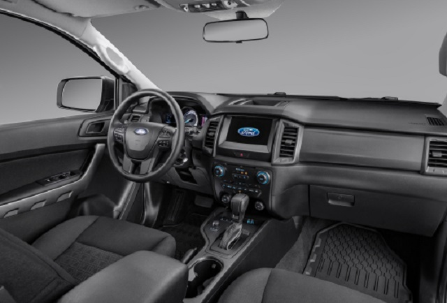 2022 Ford Ranger cabin