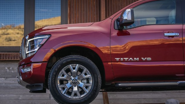 2022 Nissan Titan diesel