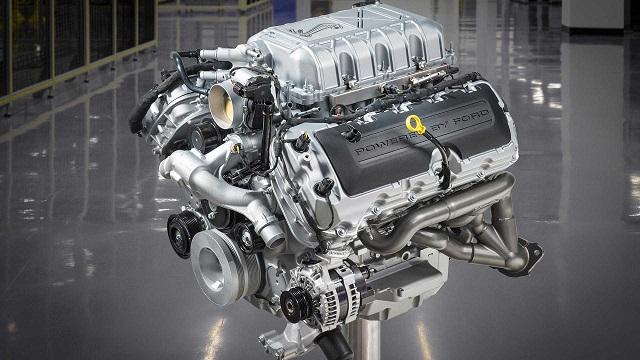 2022 Ford Ranger Raptor Engine