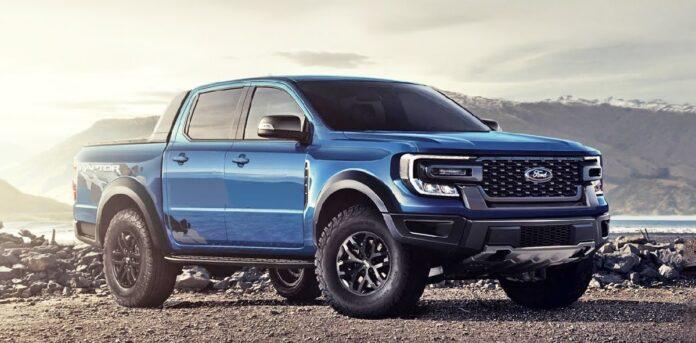 2022 Ford Ranger Raptor side
